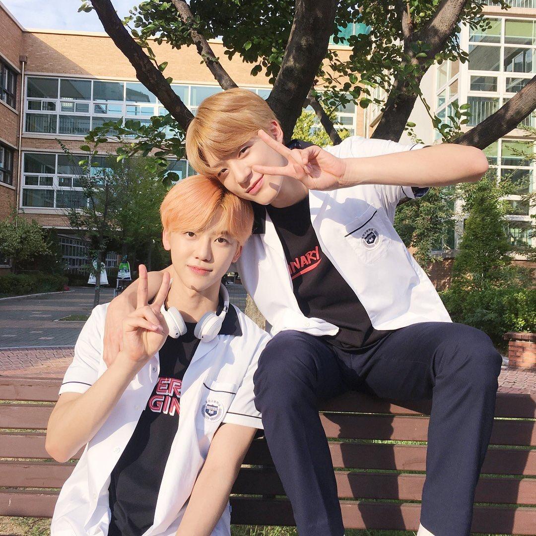☆๑•̀♡•́๑✧๑•̀♡  JaeMin and Jeno in the set of A-TEEN. NoMin  ☆๑•̀♡•́๑✧๑•̀♡•́  #jaeno #nomin #jeno #jaemin #nctdream #잼노 #재노 #노민 #재민 #제노 #엔시티 #잼젠 #젠잼