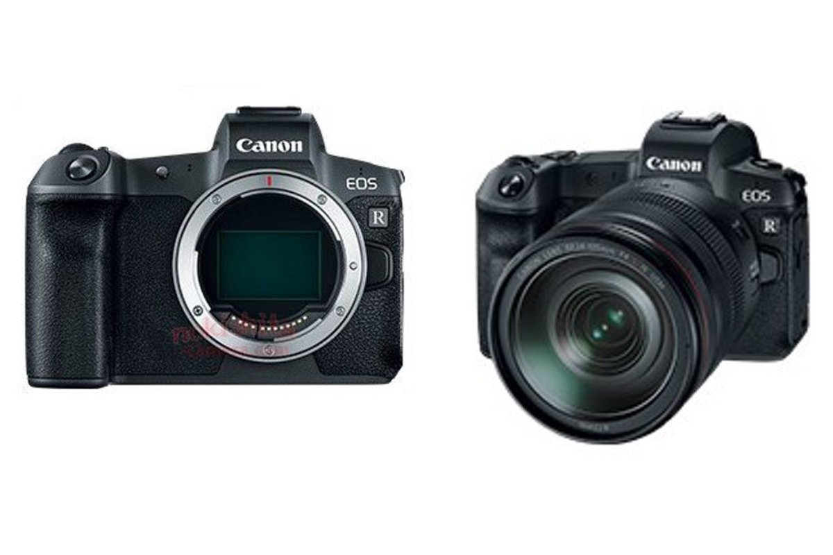 Canon's full-frame mirrorless camera leaks and could be coming this week