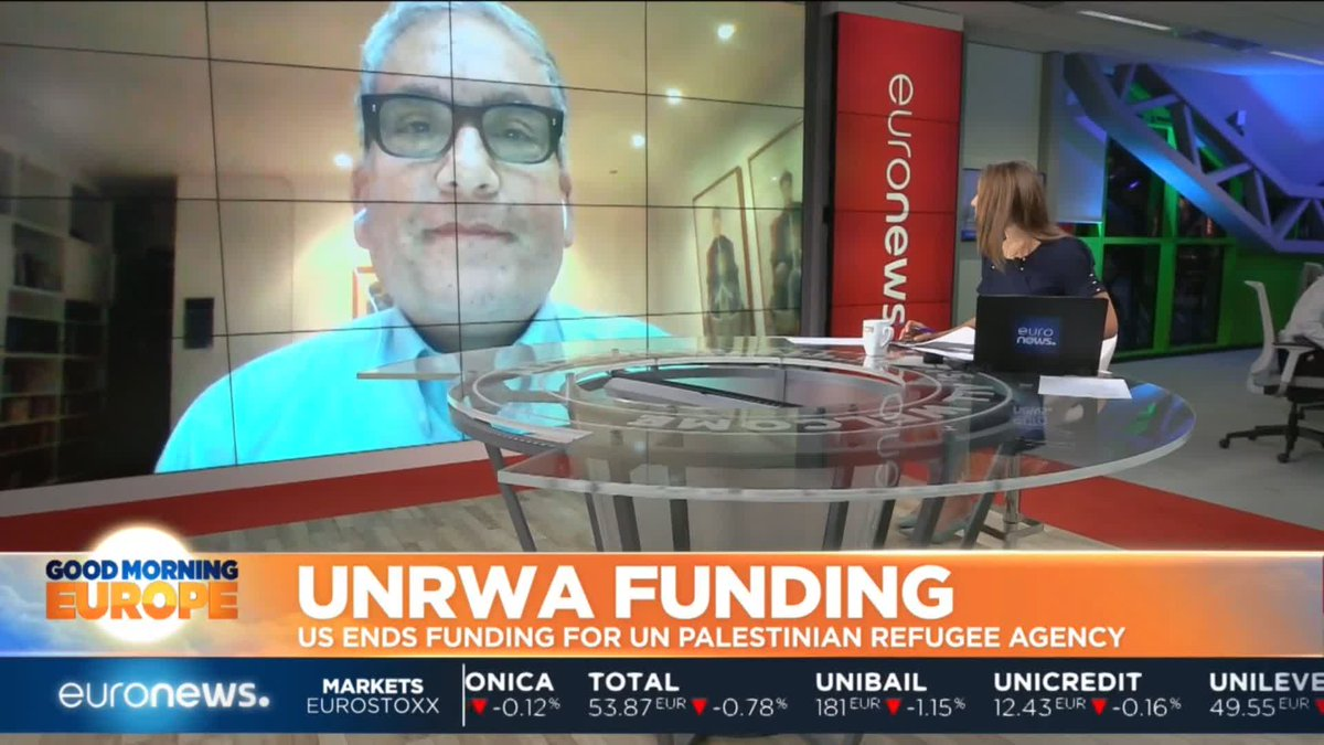 #GME | The US has decided to end all funding for the UN Palestinian Refugee Agency. @belledonati speaks with UNWRA spokesperson @ChrisGunness for more.  http://www.euronews.com
