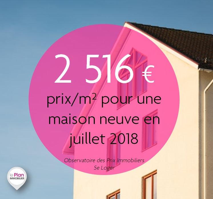 Le Plan Immobilier On Twitter Prix Moyen Par M Pour Une Maison Neuve En Juillet Une Baisse De 0 6 Par Rapport Au 3 Derniers Mois