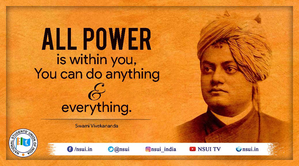 swami vivekananda as a contributor in Swami vivekananda as a contributor in social work essay contributor in social work in india brajesh kumar ma social work in child rights 1 introduction swami vivekananda, known in his pre-monastic life as narendranath datta, was born in an affluent family in kolkata.