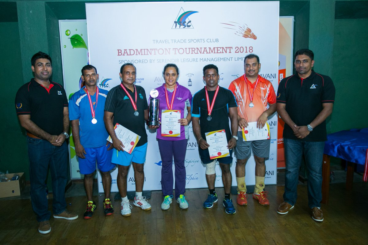 Cinnamon Lakeside's Veterans team emerged Runners-Up at the 23rd Annual Travel Trade Sports Club Badminton Championships 2018, held on on 2nd September at S.Thomas' College, Mt. Lavinia. https://t.co/tC2iStHigm