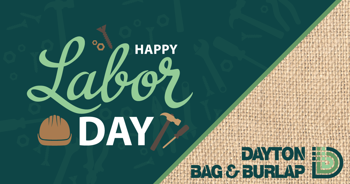 Dayton Bag Burlap On Twitter Hy Laborday From