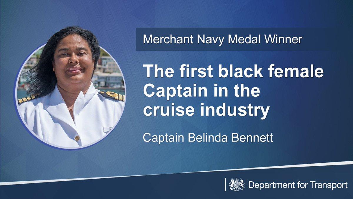 """Dept for Transport on Twitter: """"Captain Belinda Bennett ... Belinda Bennett Sea Captain"""