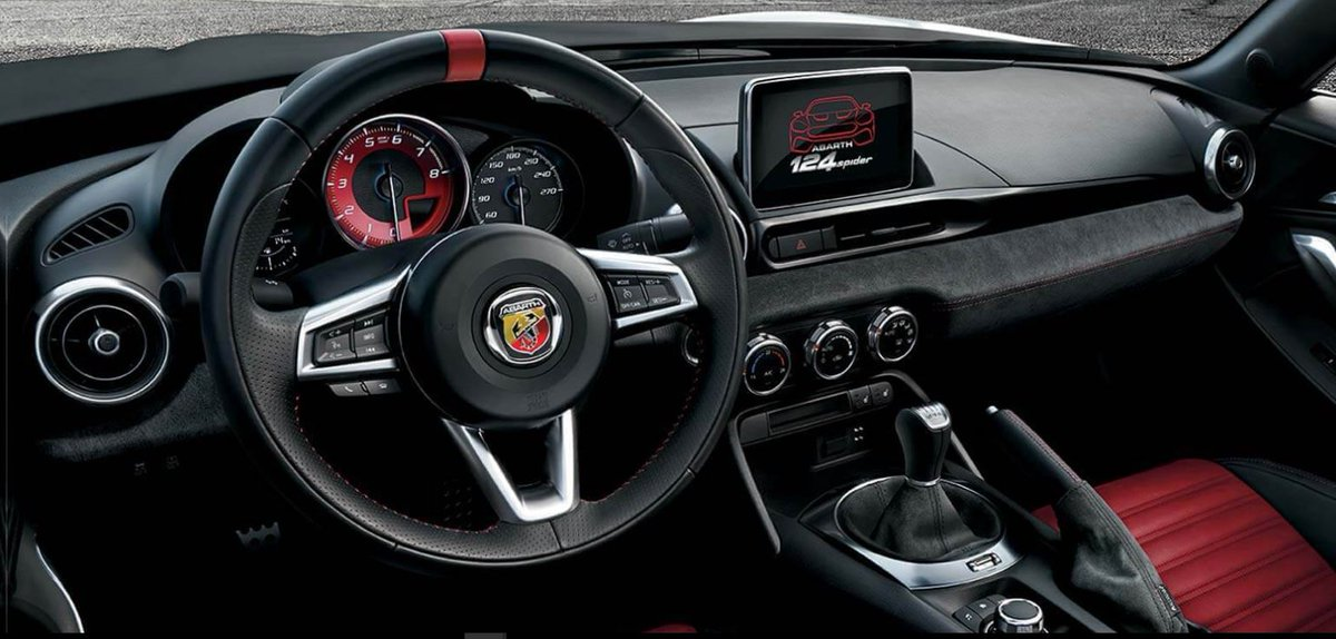 ABARTH 124 SPIDER ROADSTER 1.4 T MULTIAIR 2DR. £199 per month. Discover this exclusive offer from your local Motor Village dealership. #Abarth #performance #enhanced #technology #beastmode #fast https://t.co/u59rdxpeyt