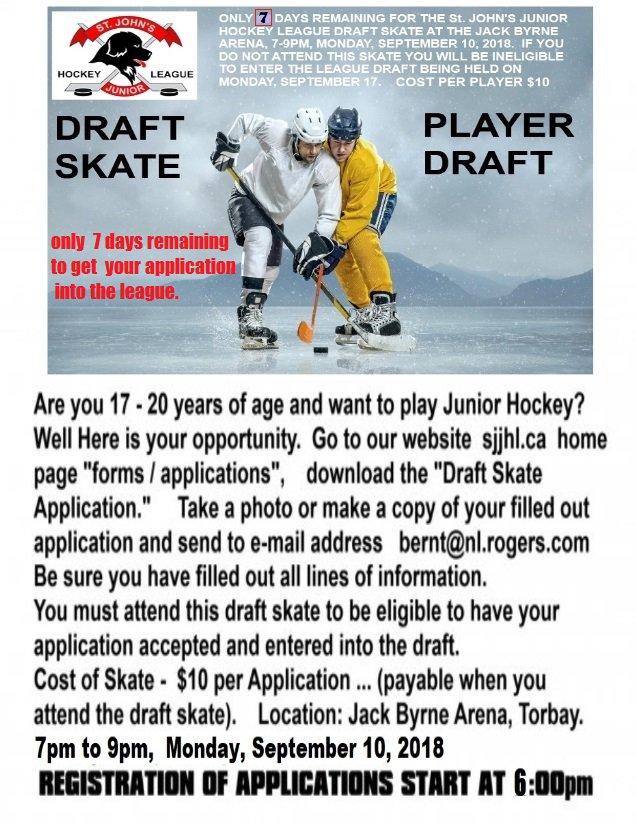 Sj Jr Hockey League On Twitter St John S Junior Hockey League