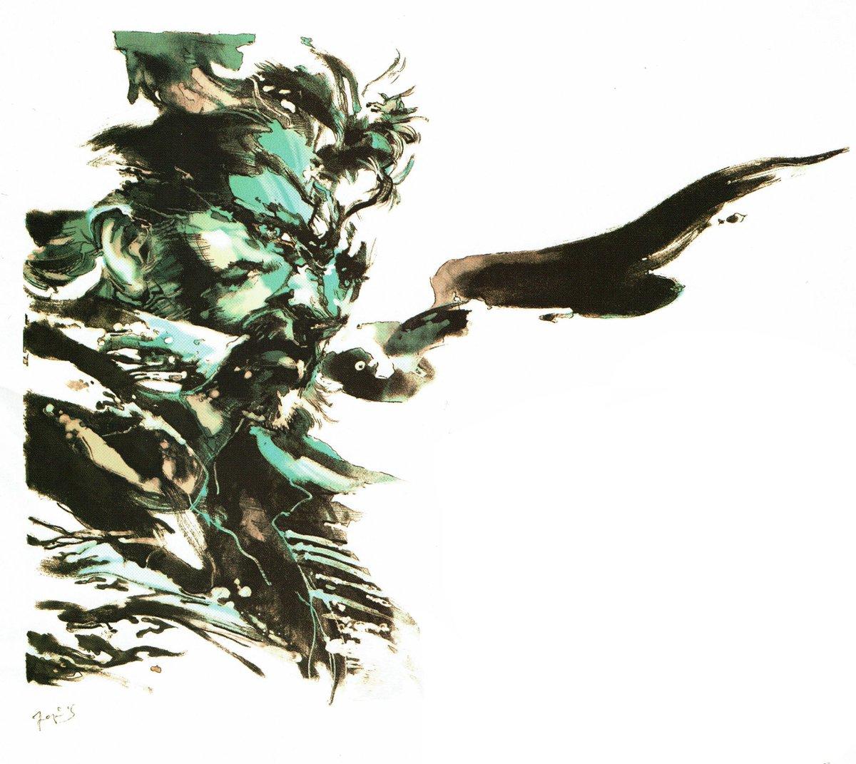 Videogameart Tidbits On Twitter Metal Gear Solid 3 Snake