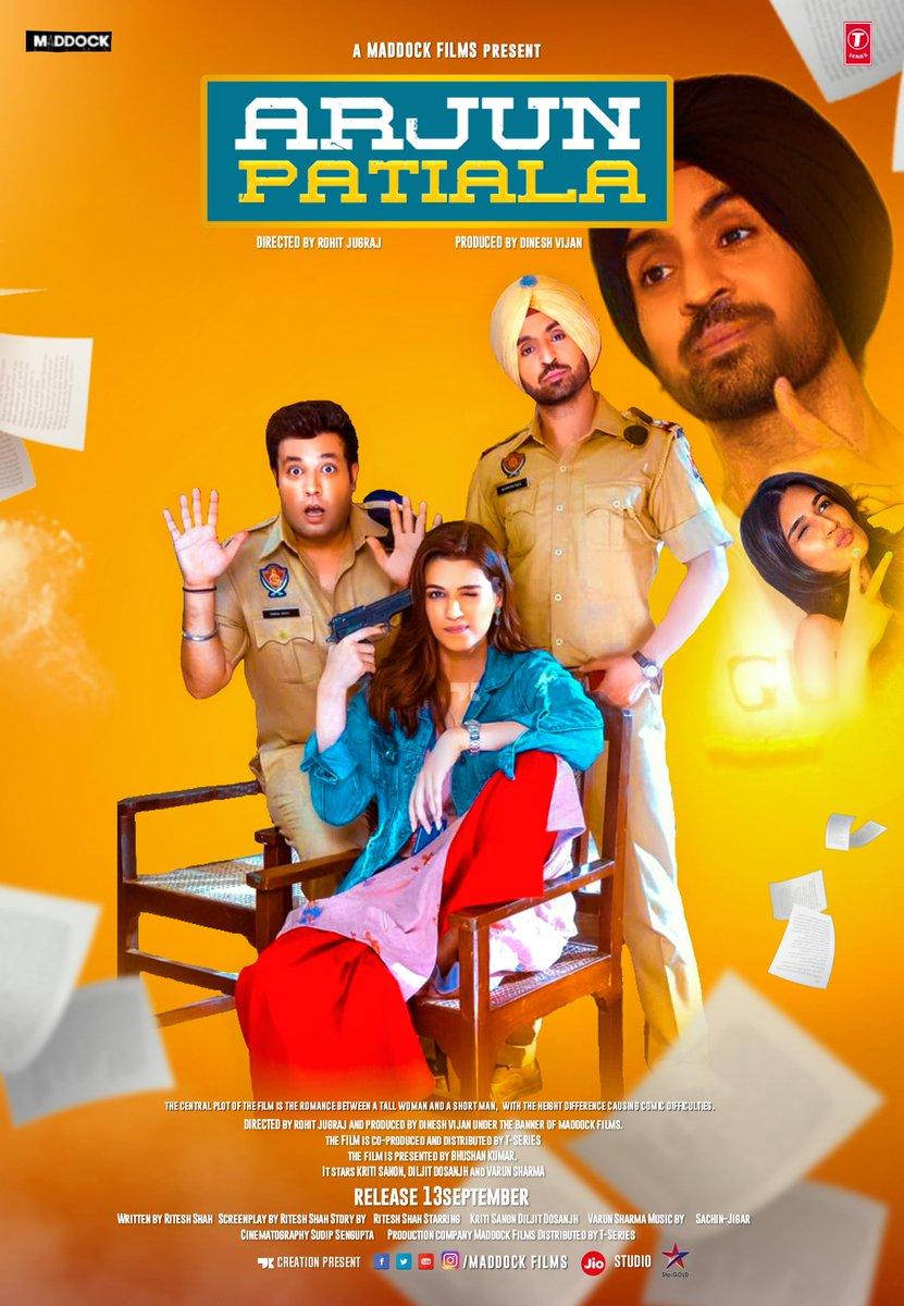 Arjun Patiala (2019) Hindi Movie 480p DvDScr x264 350MB