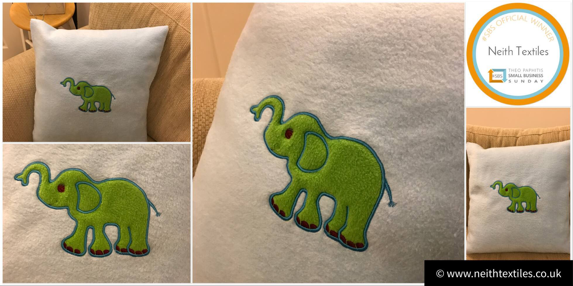 Our elephant fleece cushion makes a perfect gift ����  https://t.co/mh6ioZHR9H  #womaninbiz #wnukrt https://t.co/va9ChKobL3