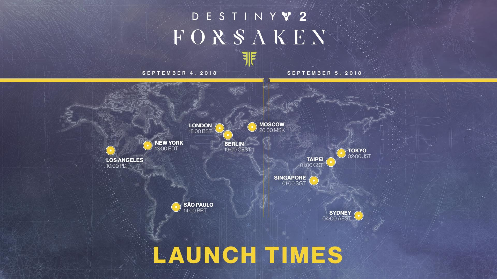 a5c139629c4 Countdown to Forsaken(End of Maintenance and Playable State)