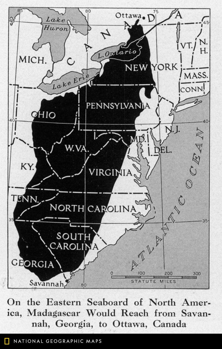 Map Of America Eastern Seaboard.Natgeomaps On Twitter Map Of The Day This June 1942 Map Compares