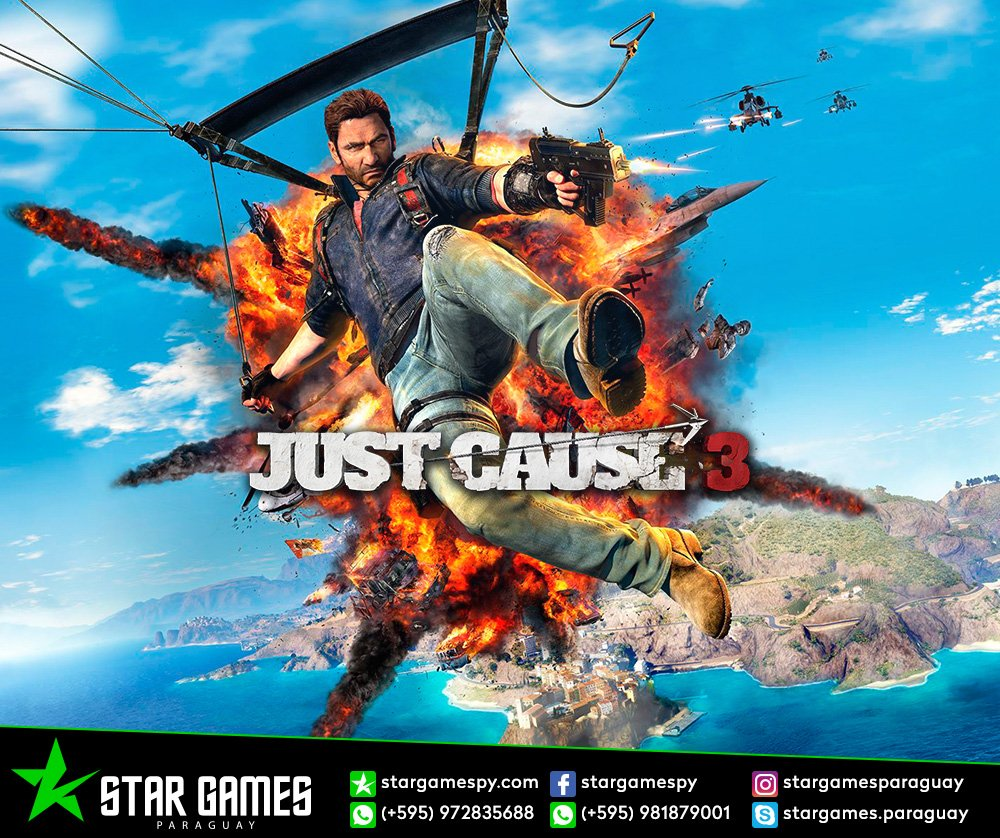 Star Games Paraguay On Twitter Jogo Just Cause 3 Disponvel Para Sony Ps4 Gold Edition 618 Am Sep 2018