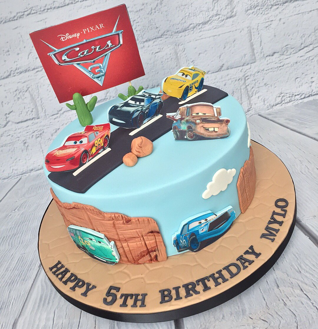 Marias Cake Boutique On Twitter Disney Cars Themed Birthday