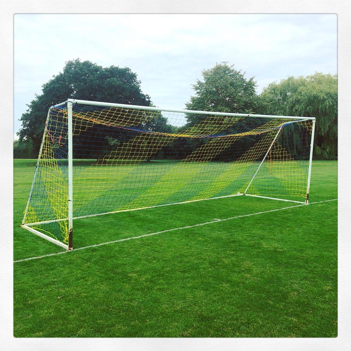 86e540aac Hopefully they will see plenty of goals to the good. #FootballNets #Goals  #TeamColours #ShireOak #Bears #FestivalLeague #Football ...
