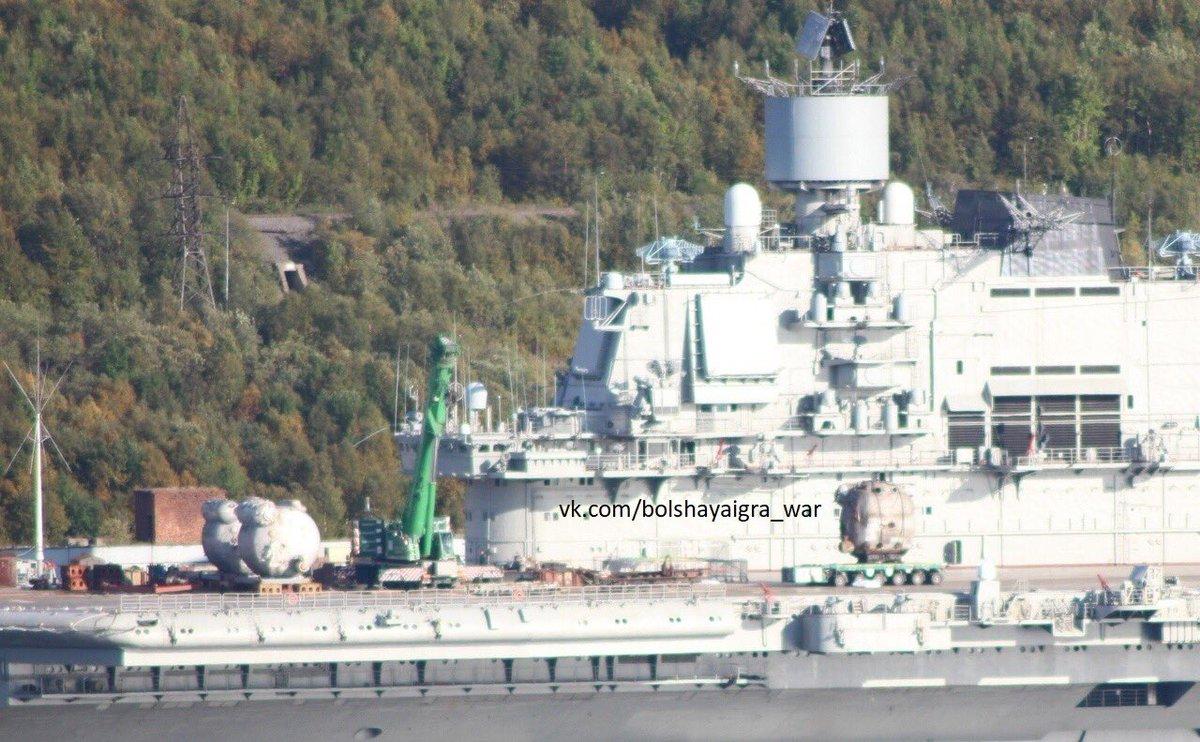 Aircraft Carrier Admiral Kuznetsov: News #2 - Page 4 DmLGnd8XoAAqO82