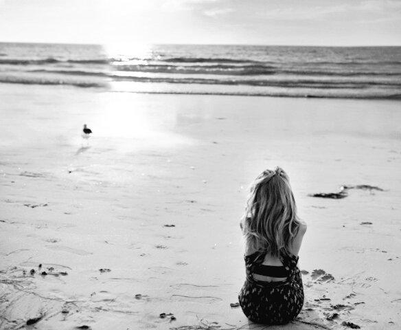 I feel free on the sea