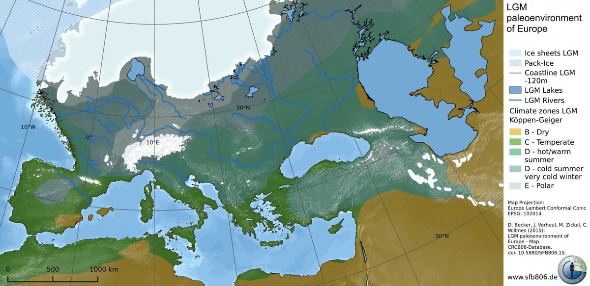 Onlmaps On Twitter The Last Ice Age In Europe Map Maps