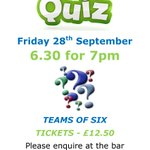 Image for the Tweet beginning: First quiz of the season!