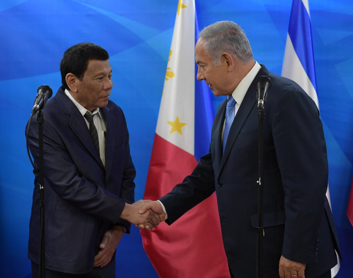 رئيس الفلبين: أوعزت للجيش بشراء السلاح من إسرائيل DmLNzeWXcAE5nyp