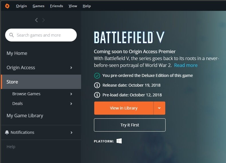 how or where to download open beta BFV (Solved) - Page 6
