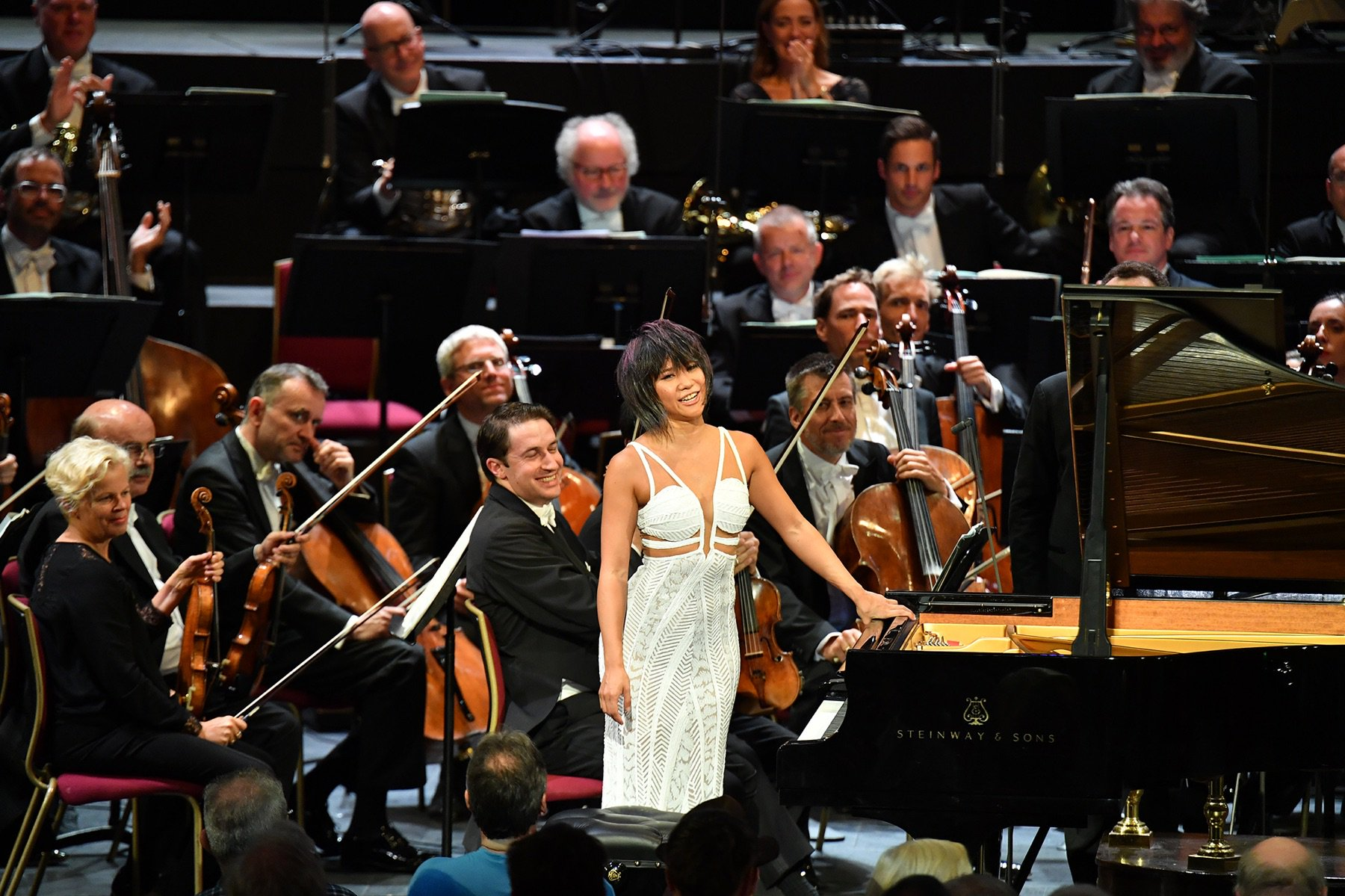 Reloaded twaddle – RT @YujaWang: Can't imagine a better way to start my season than with @BerlinPhi...