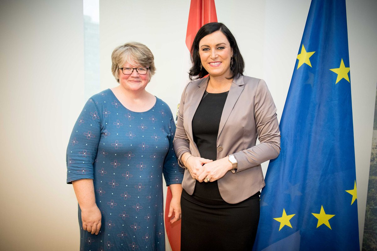 Elisabeth Köstinger On Twitter Constructive Meeting With The
