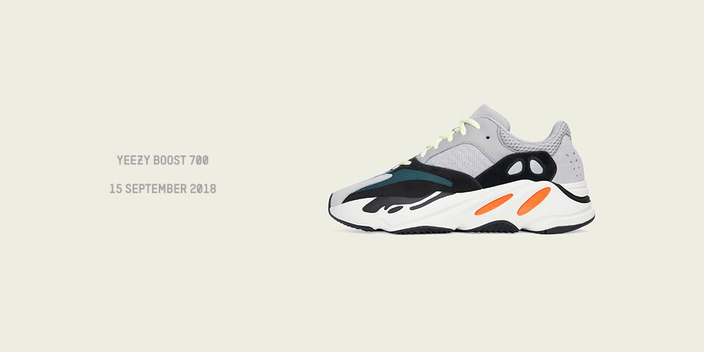 d925c00e47164 YEEZY BOOST 700 MULTI SOLID GREY GLOBAL LAUNCH 15 SEPTEMBERpic.twitter.com 7OohnPVOUS.  9 22 AM - 3 Sep 2018