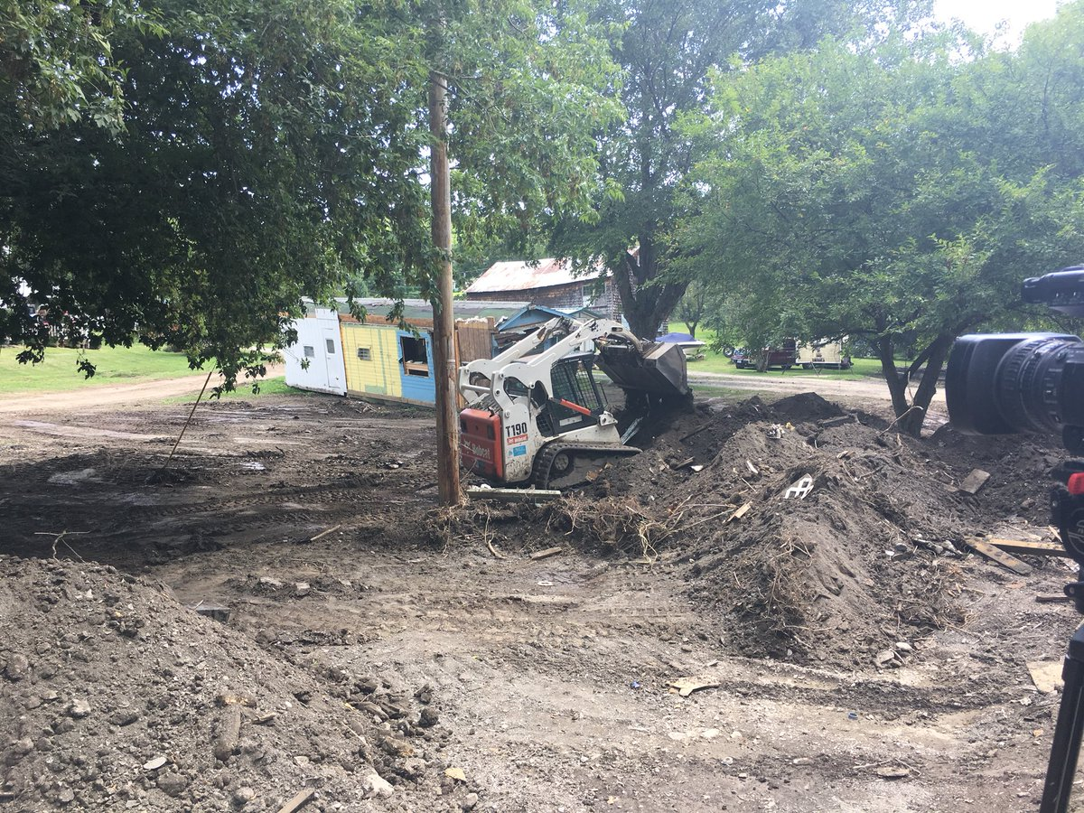 Curfew lifted at Lodi Point after destructive flooding; cleanup continues for residents