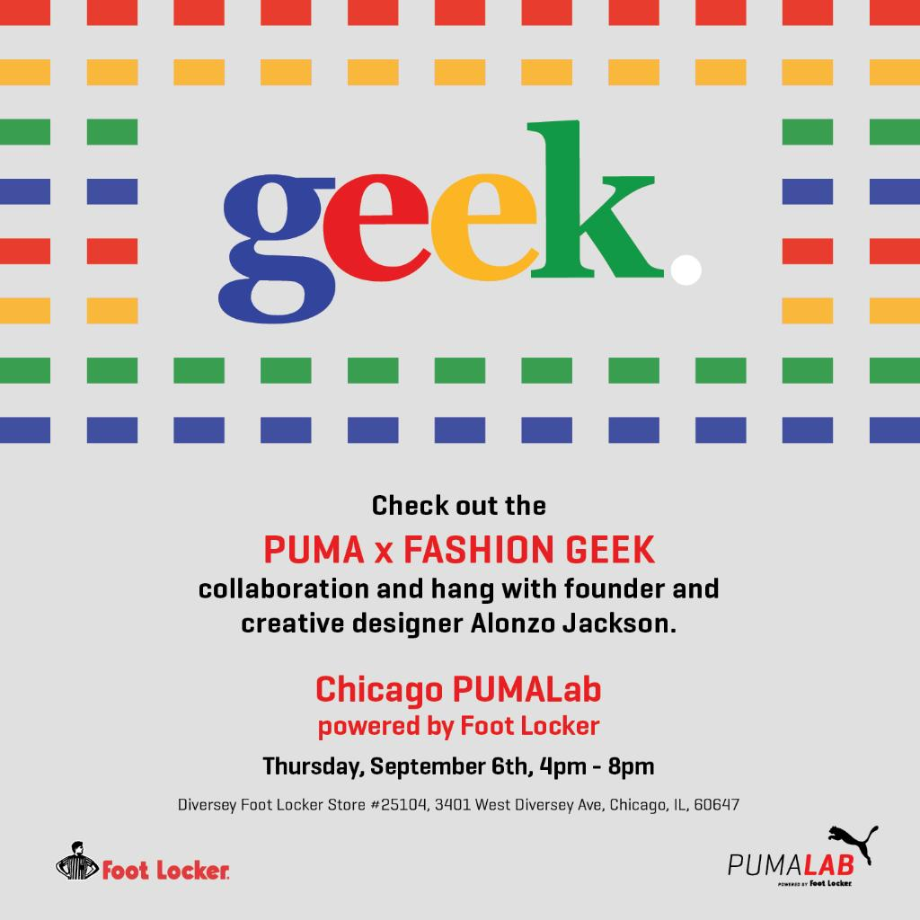 1e01c8fd764297 The PUMA x Fashion Geek collab hits stores 9 6! Come check out the