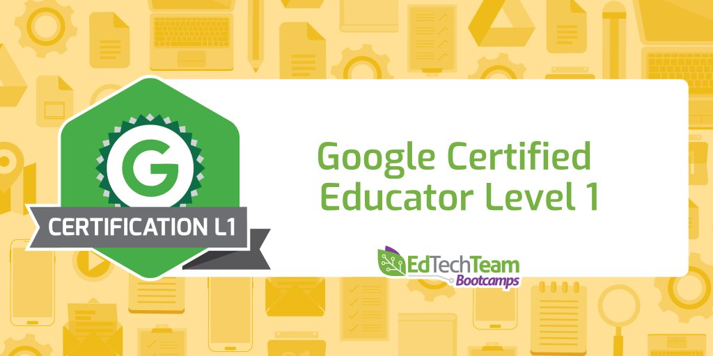 Edtechteam Inc On Twitter Ready For Google Educator