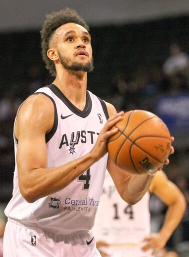 Congrats to Derrick White for being selected to compete for a spot on the USA Men's World Cup Qualifying Team. Good luck! @Dwhite921 @usabasketball #basketball #basketballislife