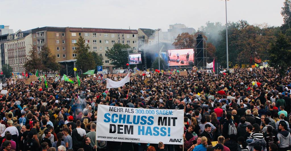 Avaaz On Twitter Wow 50000 People Attended The Chemnitz Rally