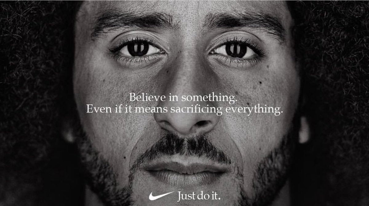 """BREAKING: Nike had been paying Colin Kaepernick all along, waiting for the right moment. That moment is now, as he becomes the face of the company's 30th anniversary of the """"Just Do It"""" campaign."""