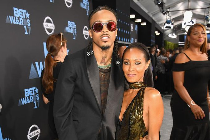 "Jada Pinkett Smith pens sweet message for August Alsina\s birthday: ""I m So Proud Of You\"""