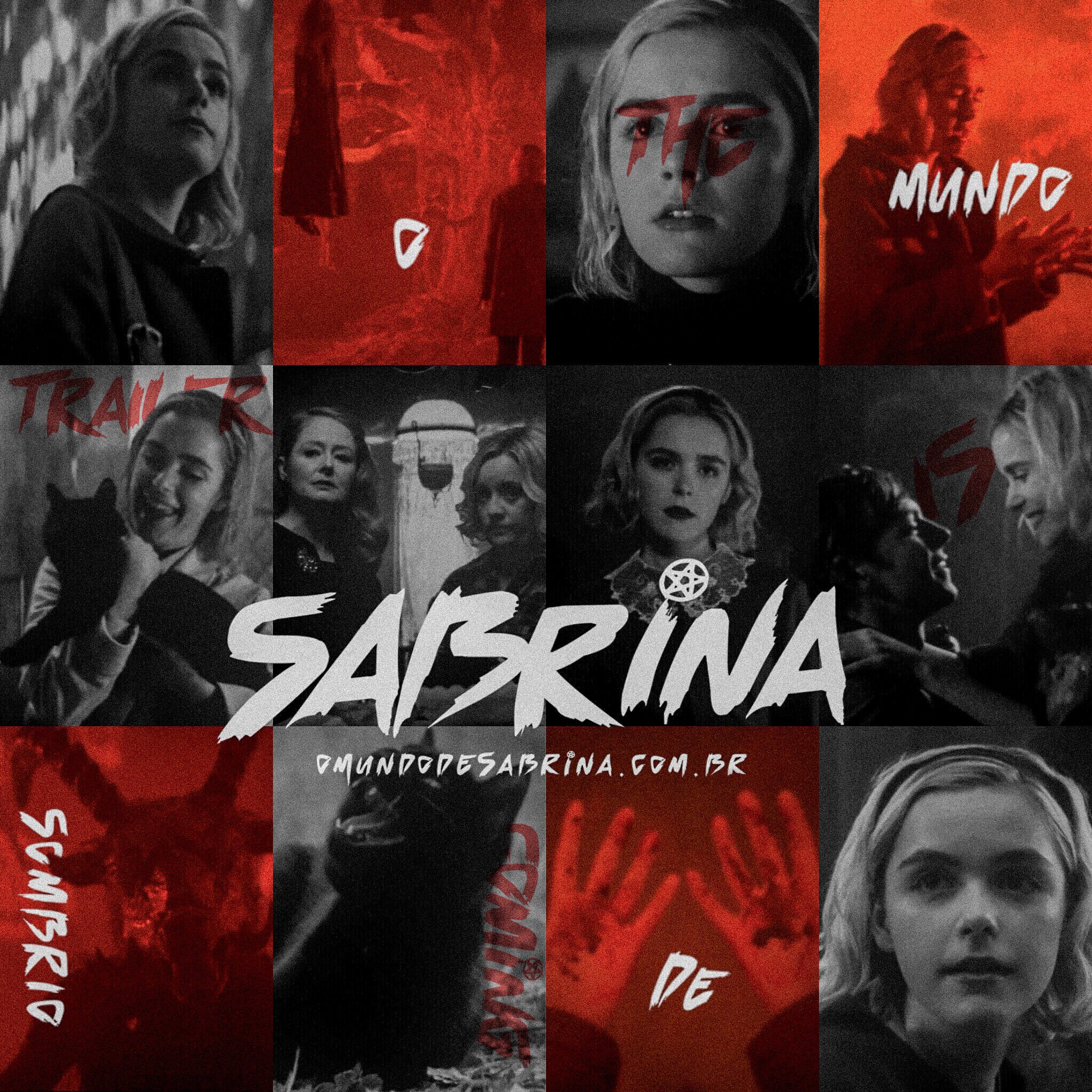 "O Mundo Sombrio de Sabrina on Twitter: ""THE. TRAILER. IS ..."