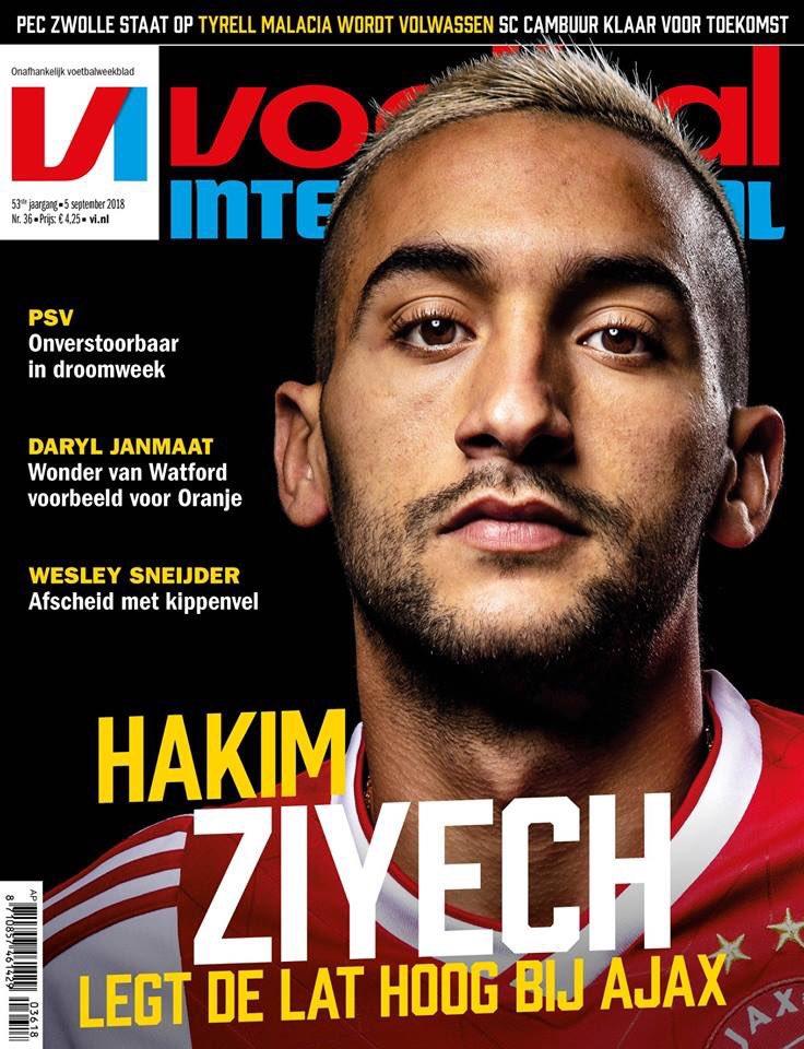 Il a une gueule #Ziyech et du talent. Ça finira sans aucun doute dans un top club ! via @VI_Update #Maroc #Ajax