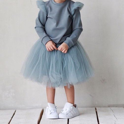 We have a tulle obsession #kidswhoweartulle #love #loveit #skirt #shirt #set #cute #girls #clothing #kidsclothes #cute #sweet #happykid #ootd #lookoftheday #modest #modestlook