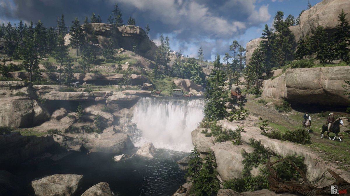 Image result for rdr2 beautiful landscape
