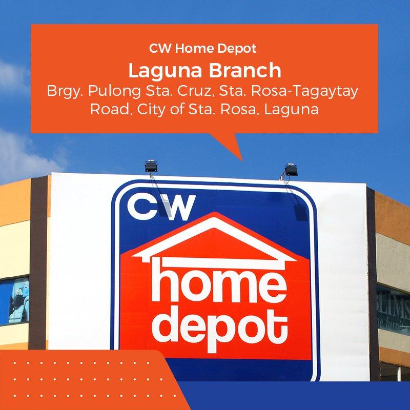 CW Home Depot (@CWHomeDepot)   Twitter Home Depot Cavite on home depot address numbers, home depot manila, home depot philippines, home depot makati, home depot san fernando, home depot pampanga,