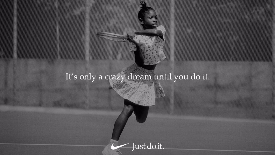 Especially proud to be a part of the Nike family today. #justdoit