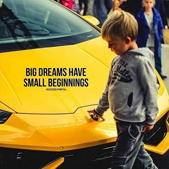 Big Dreams have Small Beginnings... We can help, @successon247 Cranks Out Red-Hot Leads Daily! #justdoit #success #garyvee #picoftheday #california #newyork #chicago #miami #usa #marketing #summit #onlinemarketing #motivation