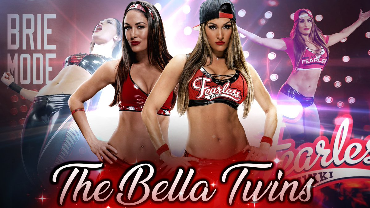 Lucio Rodrigues On Twitter The Bella Twins Wallpaper Raw