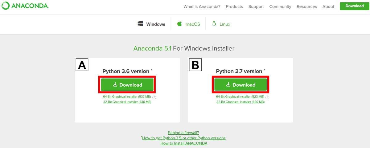 install python packages windows anaconda