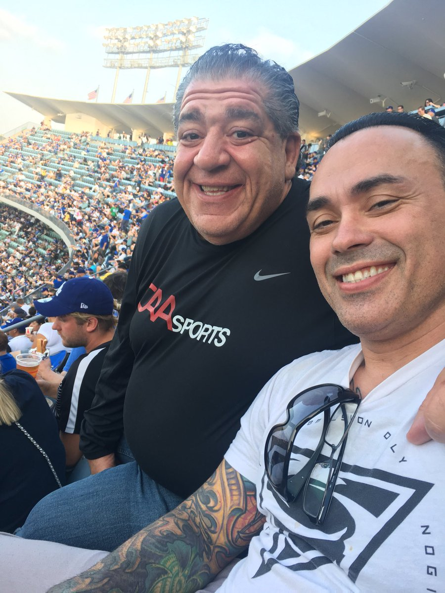 Joey Coco Diaz On Twitter With My Man Eb And The Family At Dodgers Vs Mets He and his first wife had a daughter together but when they divorced in. joey coco diaz on twitter with my man