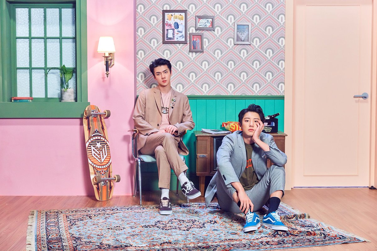 EXO's CHANYEOL and SEHUN to be the third liner for 'STATION X 0' project! Their perfect harmonious duet song 'We Young' will be released on September 14, so please stay tuned~  🎧CHANYEOL x SEHUN 'We Young : 2018.09.14. 6PM (KST)  #CHANYEOL #찬열 #SEHUN #세훈 #WE_YOUNG #STATIONx0
