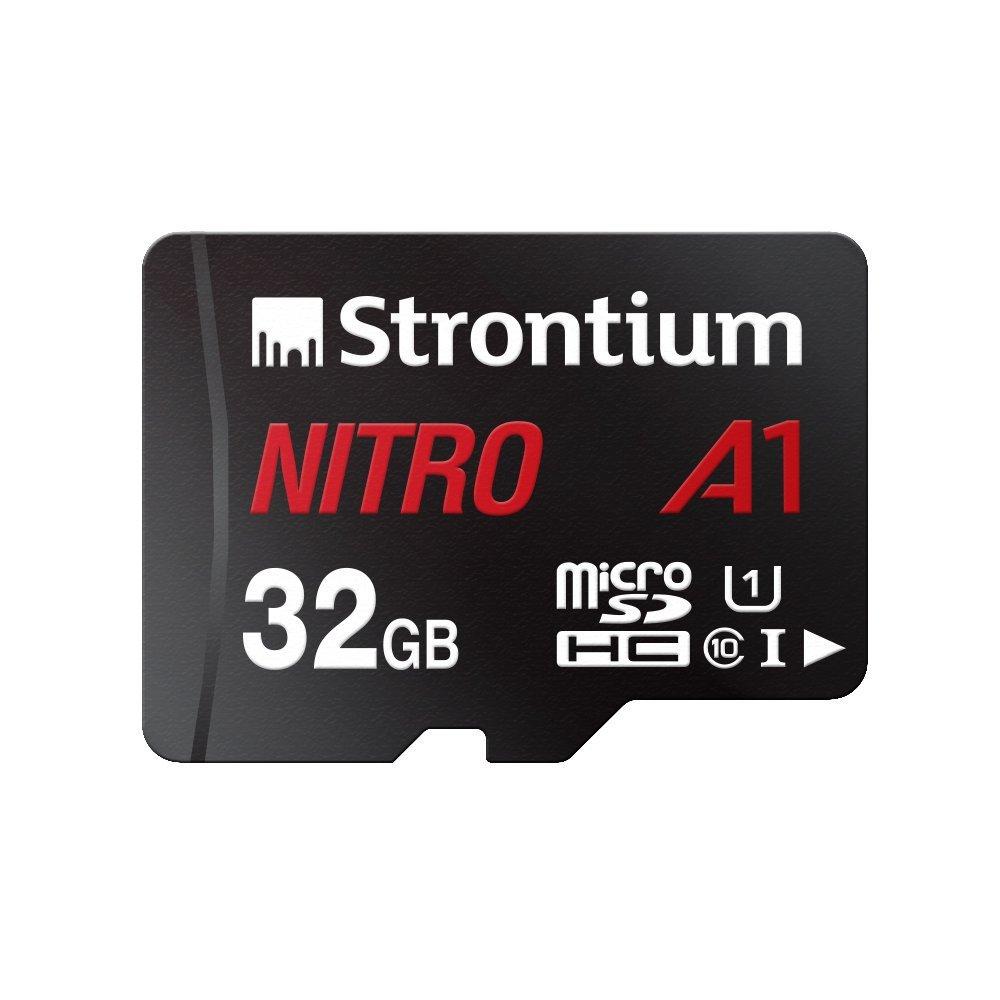 Strontium Nitro A1 32GB Micro SDHC Memory Card 100MB/s