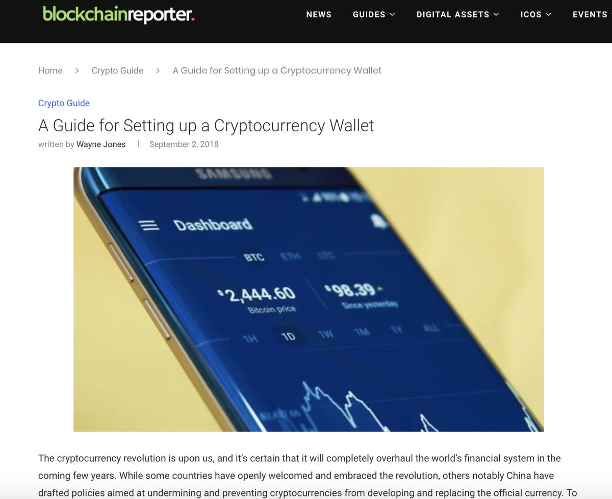 anon cryptocurrency wallet