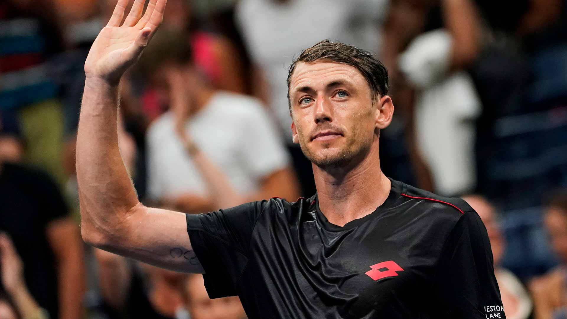 Tell us what you think is going through @johnhmillman's mind �� https://t.co/7dz0K1dIJc