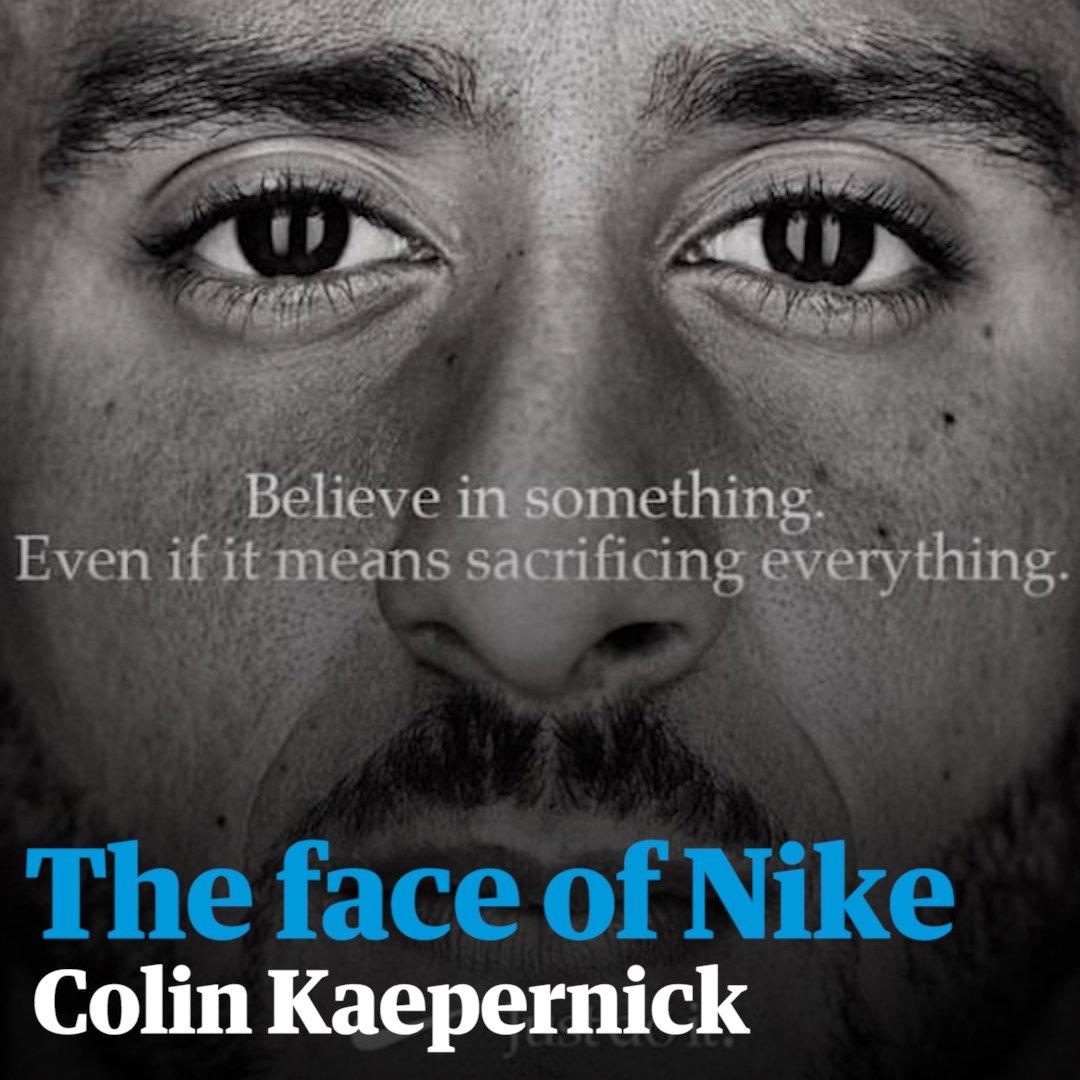 Colin Kaepernick becomes the new face of Nike https://t.co/RDUXSafKOk