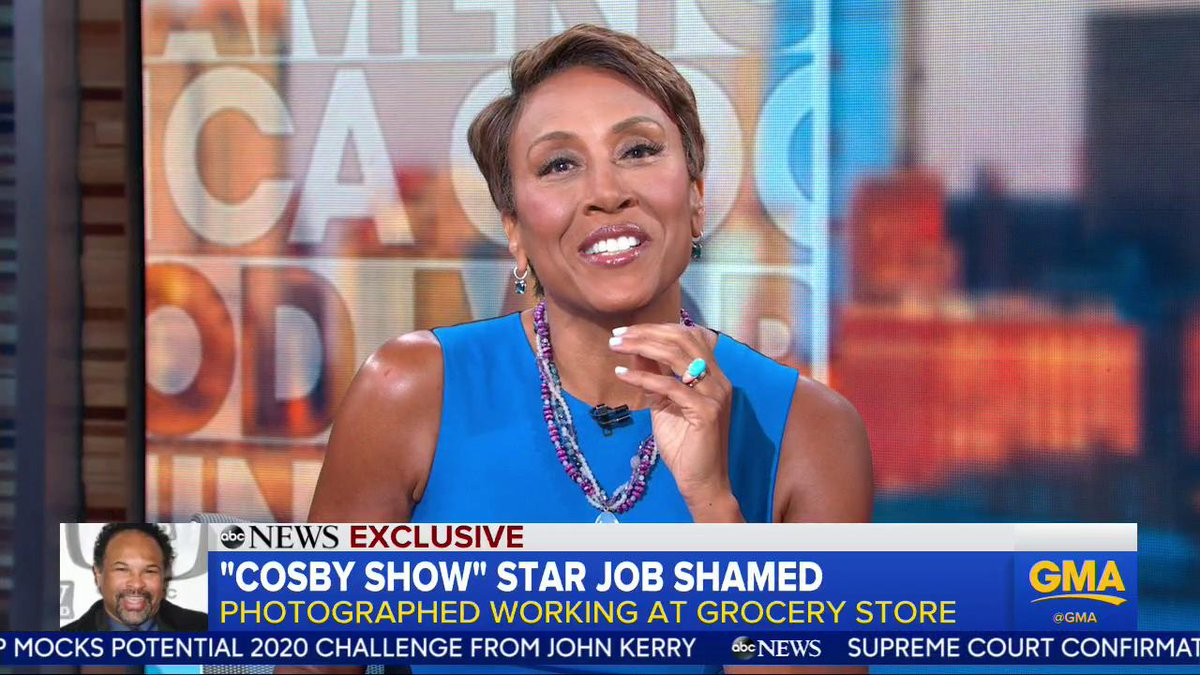 FULL INTERVIEW: @GMA EXCLUSIVE -- Theres no job better than another...every job is worthwhile... Actor Geoffrey Owens speaks out, responding to job shaming and backlash after a photo of him working at a grocery store was posted online: gma.abc/2LRFAtN